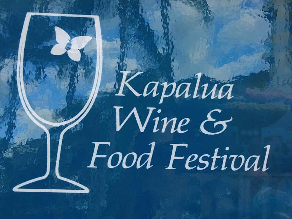 Maui June events food and wine Hono Koa Resort